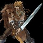Combattente con spada